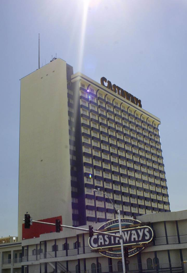 The Castaways Hotel and Casino in Las Vegas on Friday, October 1, 2004. (Ronda Churchill/Las Vegas Review-Journal)