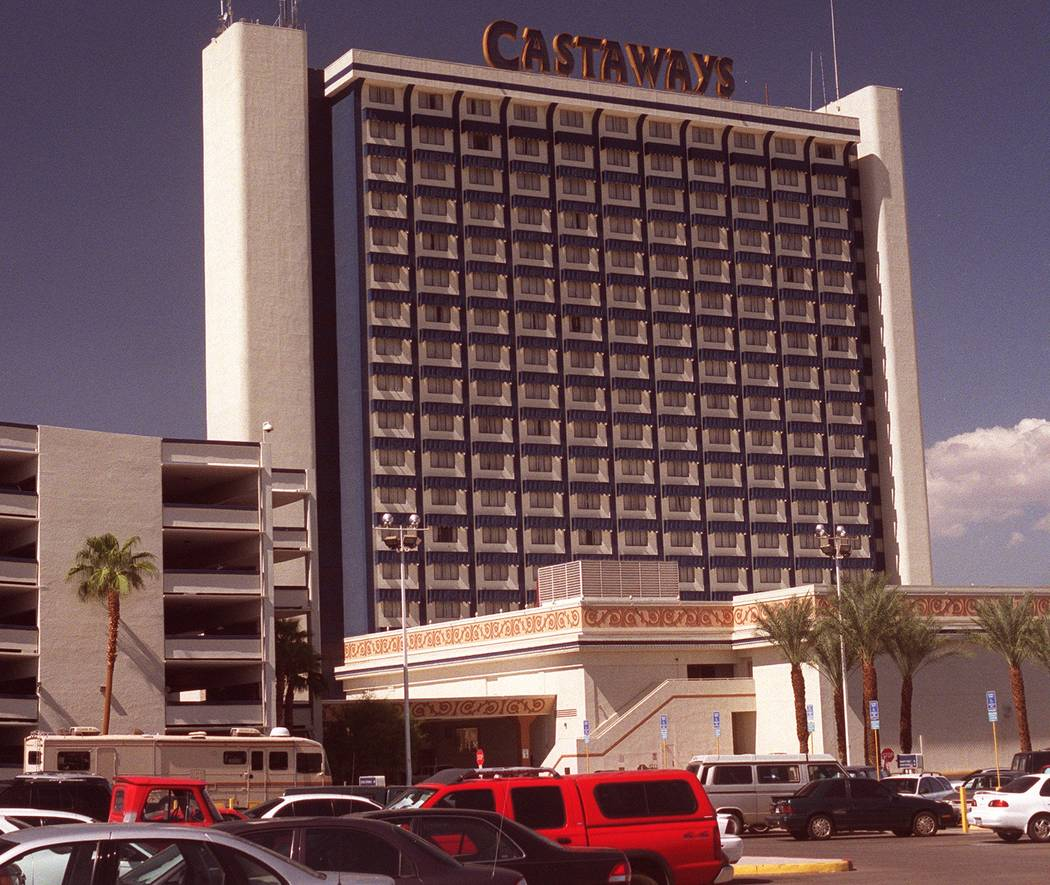The Castaways Hotel and Casino. (Ralph Fountain/Las Vegas Review-Journal)