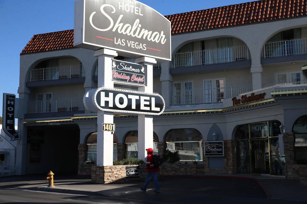 Shalimar Hotel, 1401 Las Vegas Blvd. South, in Las Vegas, Friday, Jan. 4, 2019. Erik Verduzco Las Vegas Review-Journal @Erik_Verduzco
