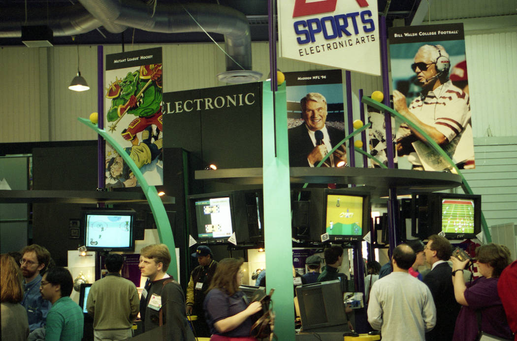 Coaches, not players, were on the covers of the big NFL video games released around the time that the 1994 Consumer Electronics Show was at the Las Vegas Convention Center. Among the hot topics at ...