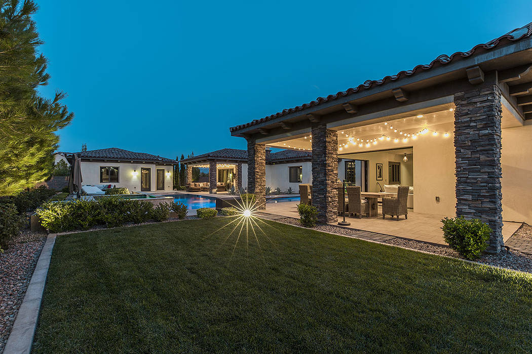 The property has a 717-square-foot casita and a three-car garage. (Ivan Sher Group)