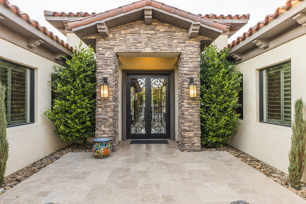 The custom home is in Southern Highlands. (Ivan Sher Group)