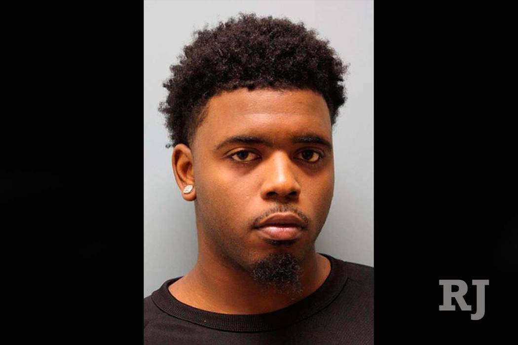 This undated image provided the Harris County Sheriff's Office shows Eric Black Jr. Prosecutors said Sunday, Jan. 6, 2019, that the shooting death of a 7-year-old black girl as she rode in her fam ...
