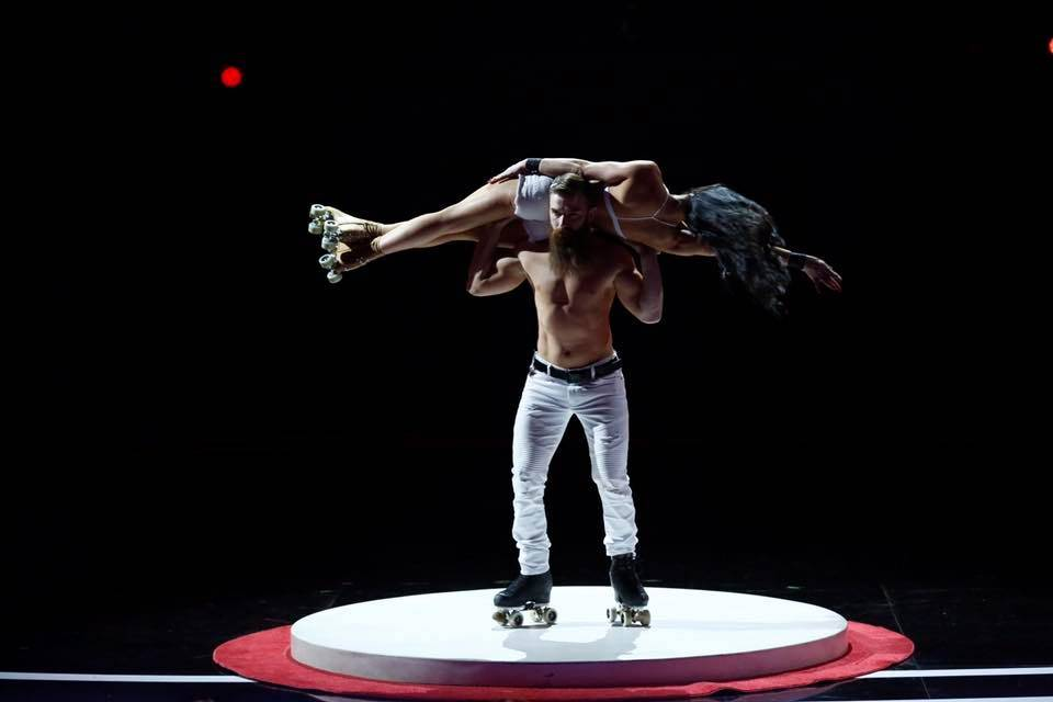 """Billy and Emily England of """"Absinthe"""" have advanced to the semifinals of NBC's """"America's Got Talent."""" (NBC)"""