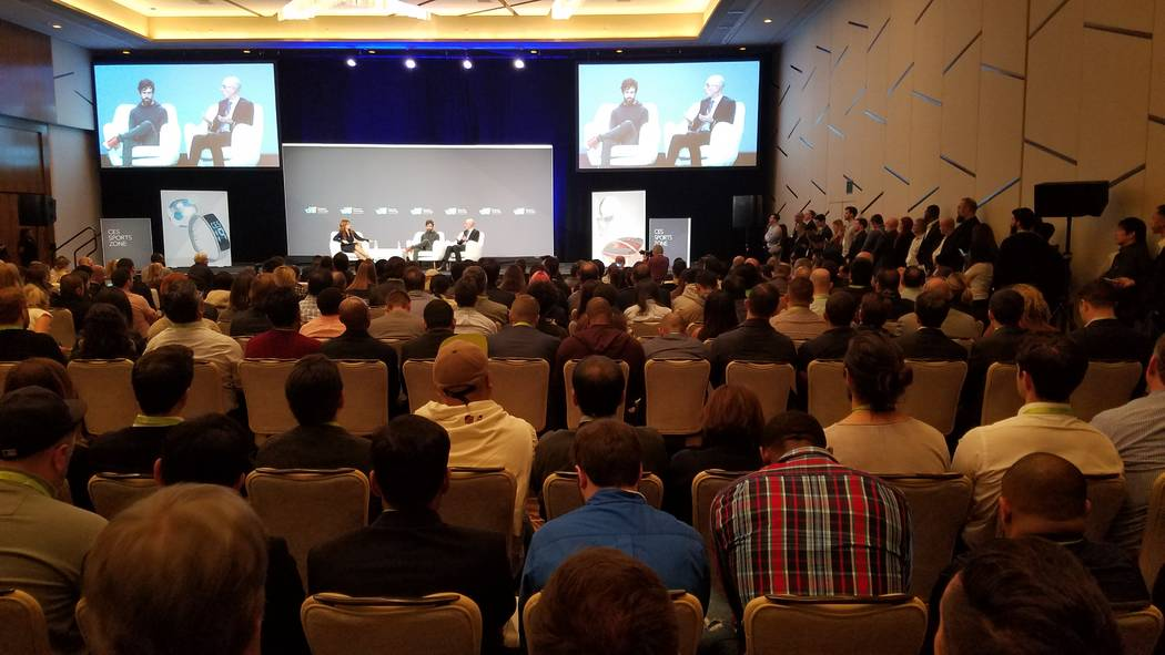 A packed house was on hand to hear Twitter CEO Jack Dorsey and National Basketball Association Commissioner Adam Silver discuss a new partnership that will lead to a livestream focus on a single p ...
