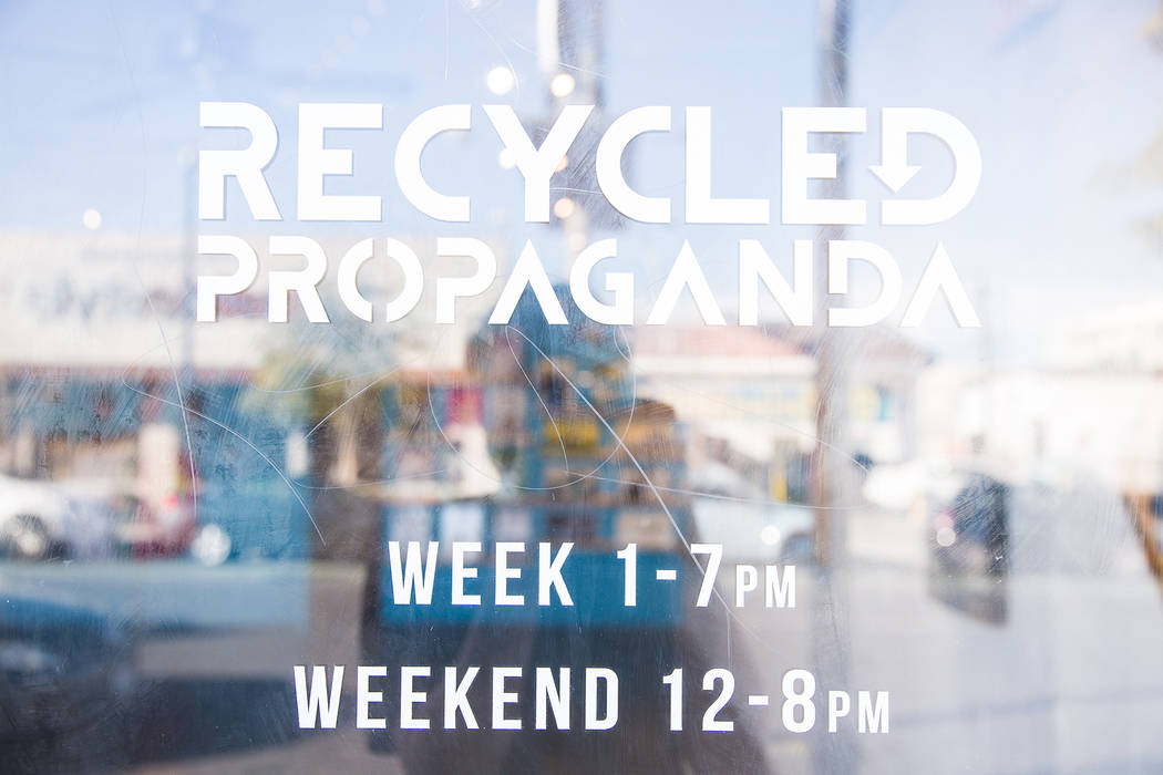 Recycled Propaganda's downtown space features a storefront and a gallery for large-scale installations. (Jesse Hudson)