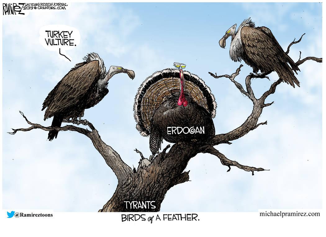 CARTOON: Erdogan snubs Bolton over U.S. plan to protect Kurds.