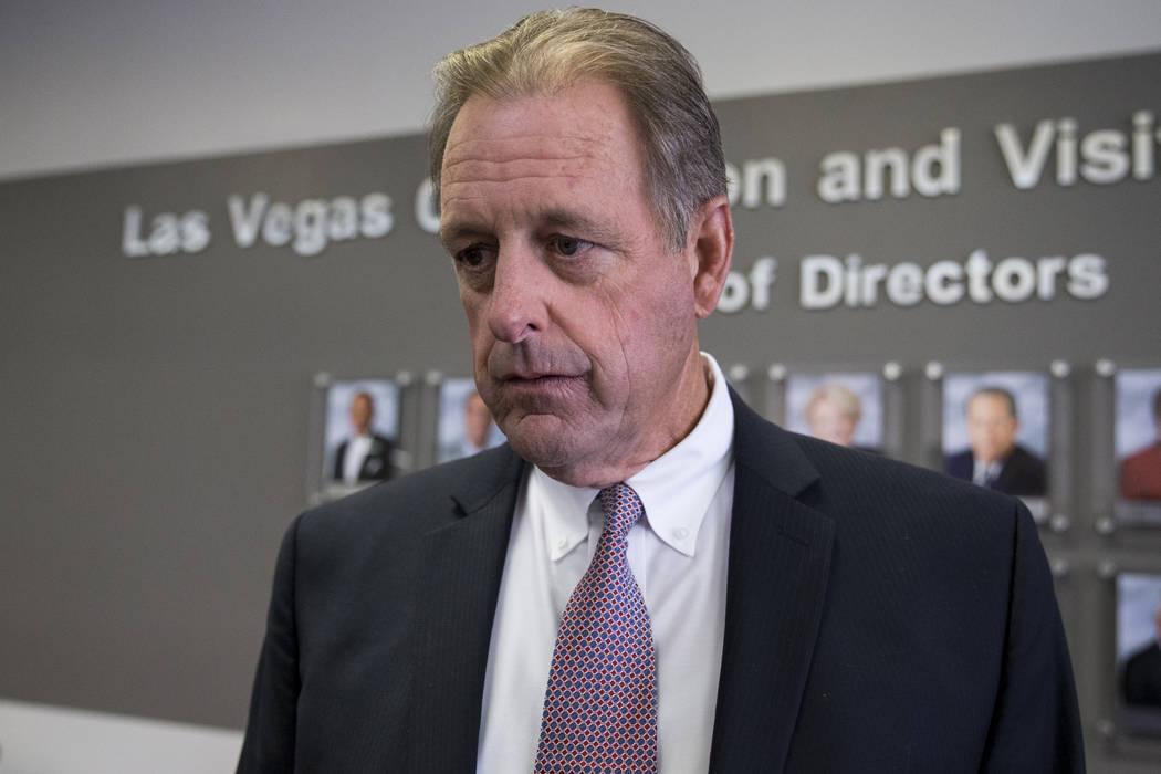 North Las Vegas Mayor John Lee. (Erik Verduzco/Las Vegas Review-Journal) @Erik_Verduzco