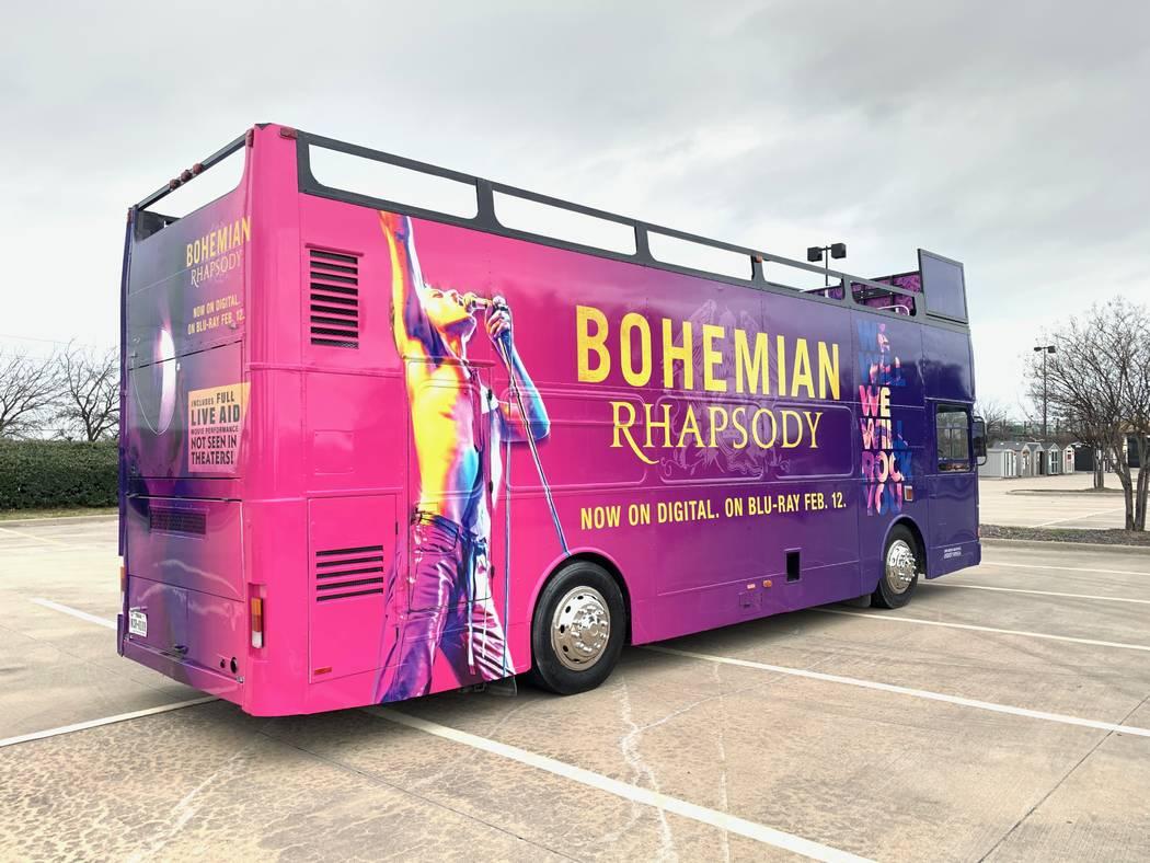 (Rock Like Queen Bus Tour)