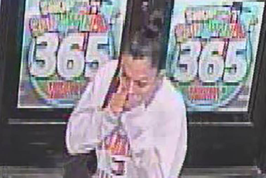Police are searching for a woman who robbed a business about 2:30 a.m. Dec. 31 on the 6300 block of West Charleston Boulevard. (Las Vegas Metropolitan Police Department)