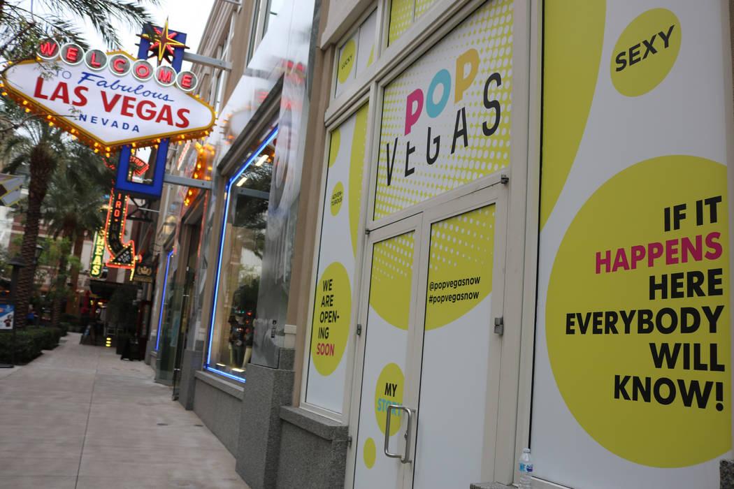 Pop Vegas is designed for the Instagram-loving selfie generation. (Janna Karel/Las Vegas Review-Journal )