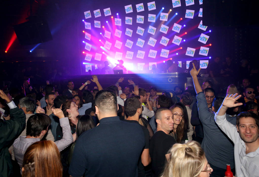 DJ Karma performs at the CES 2019 C Space Party presented by Jewel Nightclub at Aria in Las Vegas Monday, Jan. 7, 2019. K.M. Cannon Las Vegas Review-Journal @KMCannonPhoto