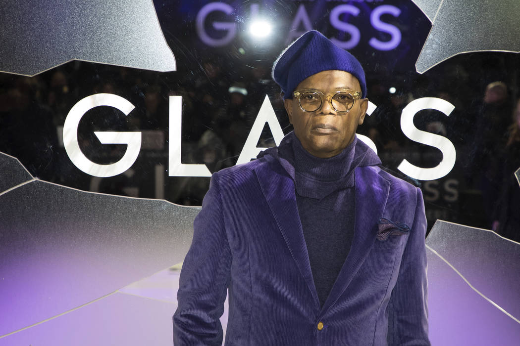 Actor Samuel L. Jackson poses for photographers upon arrival at the premiere of the film 'Glass', in London, Wednesday, Jan. 9, 2019. (Photo by Vianney Le Caer/Invision/AP)