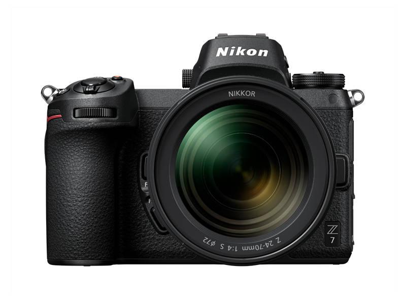 Nikon is showcasing its new Z7 mirrorless digital camera at CES 2019. (Nikon)