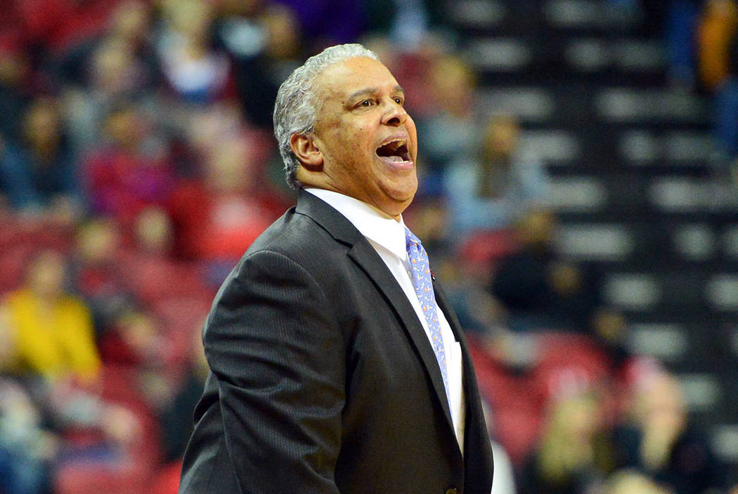UNLV Rebels coach Marvin Menzies (Las Vegas Review-Journal)