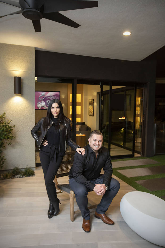 "Reality TV show stars Camila and Brent Lincowski have launched HGTV show, ""Say Yes to the Nest."" (Eric Jamison/ Special to Real Estate Millions)"