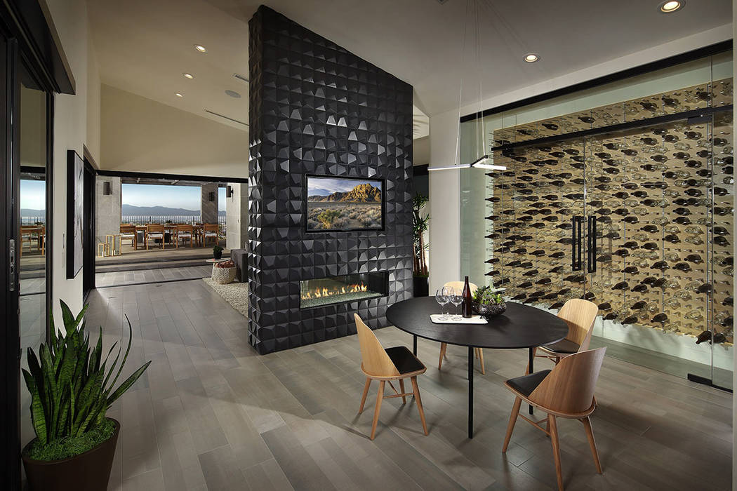 Reality TV show stars Camila and Brent Lincowski spent close to $1.5 million for a Wall model in Pardee Home's Axis community in Henderson. (Pardee Homes)
