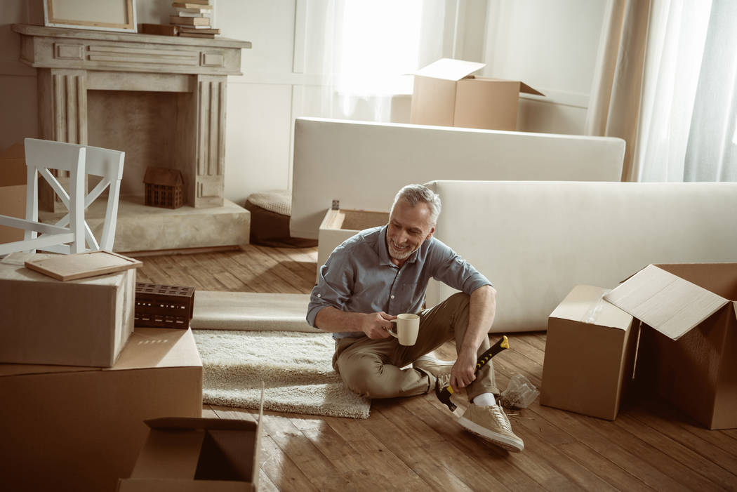 Thinkstock Some older adults choose to downsize or move to a different location when they become empty-nesters.