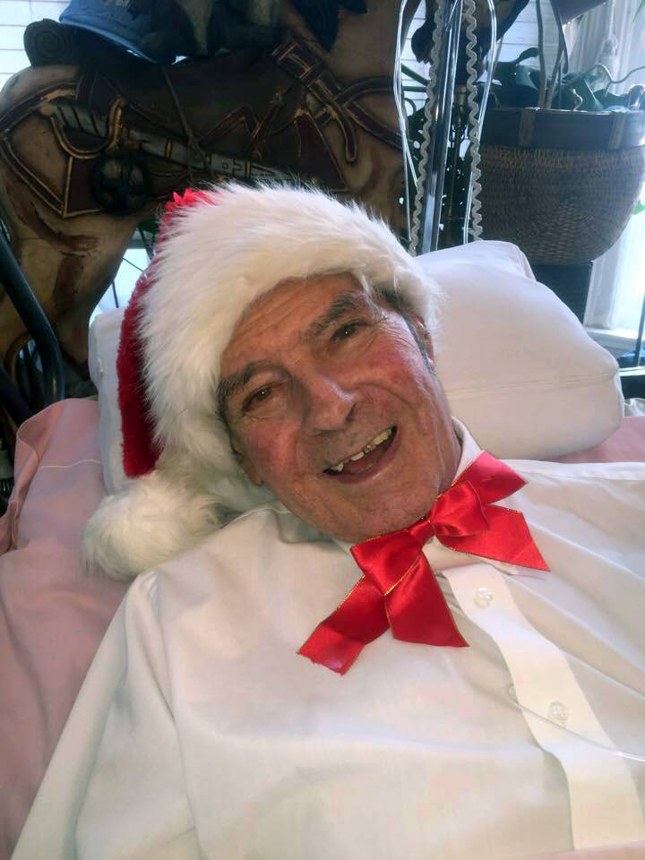 Former North Las Vegas Assemblyman Bob Price in a photo taken by the holidays and provided by his family.