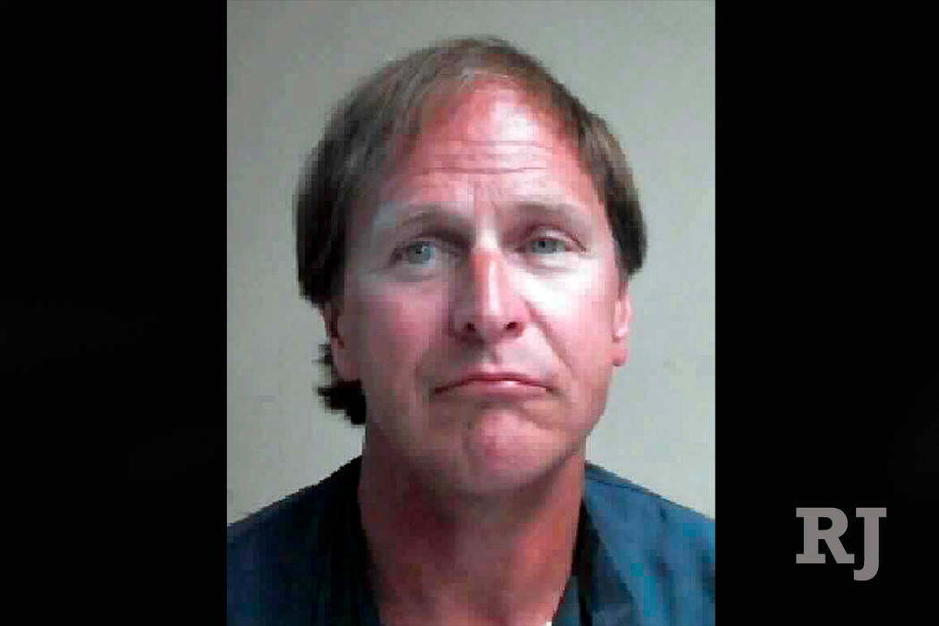This undated Nevada Department of Corrections photo shows Alexander Christopher Ewing, who is serving an 8-to-40 year sentence for a 1984 escape from custody and ax handle attack on a couple in th ...