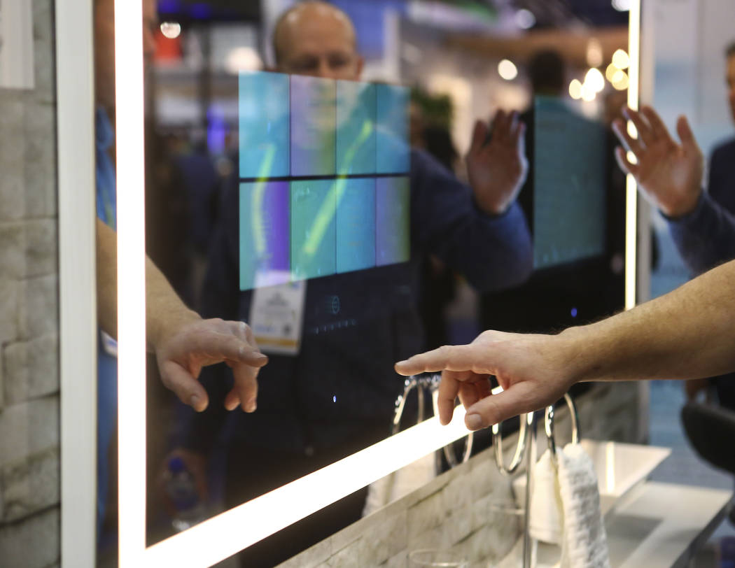 at the Sands Expo and Convention Center during CES in Las Vegas on Wednesday, Jan. 9, 2019. Chase Stevens Las Vegas Review-Journal @csstevensphoto