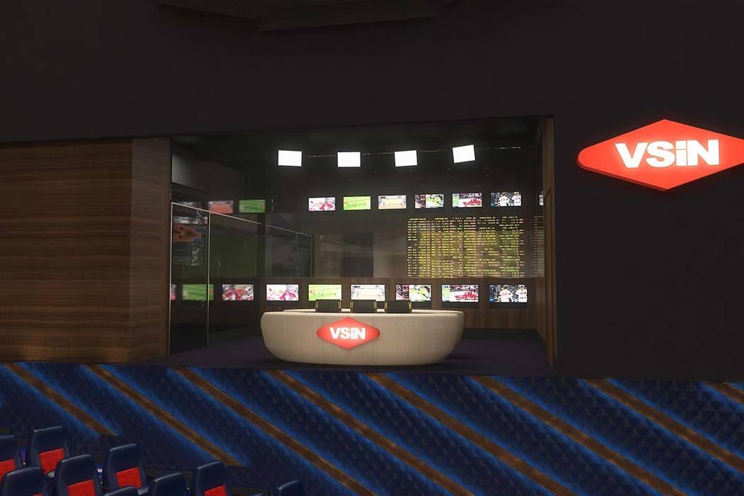 Rendering of Circa, a casino-hotel resort being built in downtown Las Vegas by DerekandGregStevens. SportsgamingmediaorganizationVegasStatsandInformationNetwork will be a par ...