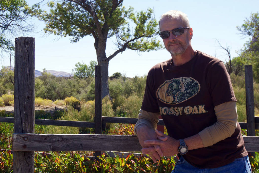 Mike Johnson, a former graphic artist at the Las Vegas Review-Journal, died at his home on Jan. 5 after suffering a traumatic brain injury. (Carolyn Johnson)