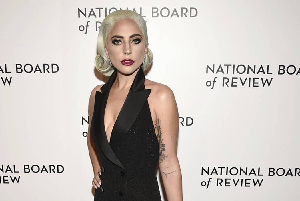 In this Jan. 8, 2019 file photo, Lady Gaga attends the National Board of Review Awards gala at Cipriani 42nd Street in New York. (Photo by Evan Agostini/Invision/AP)