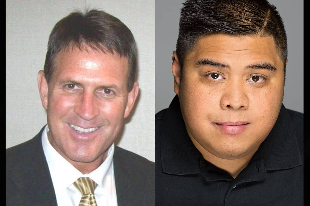 "Jesse ""Jake"" Holder (left) and Aaron Bautista (Courtesy of candidates)"