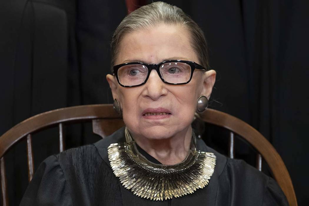 Supreme Court Justice Ginsburg shows no signs of cancer
