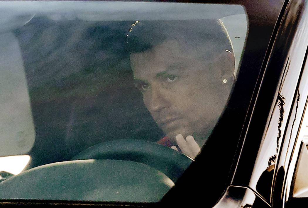 Italian soccer coach says Ronaldo 'calm' amid Las Vegas rape case