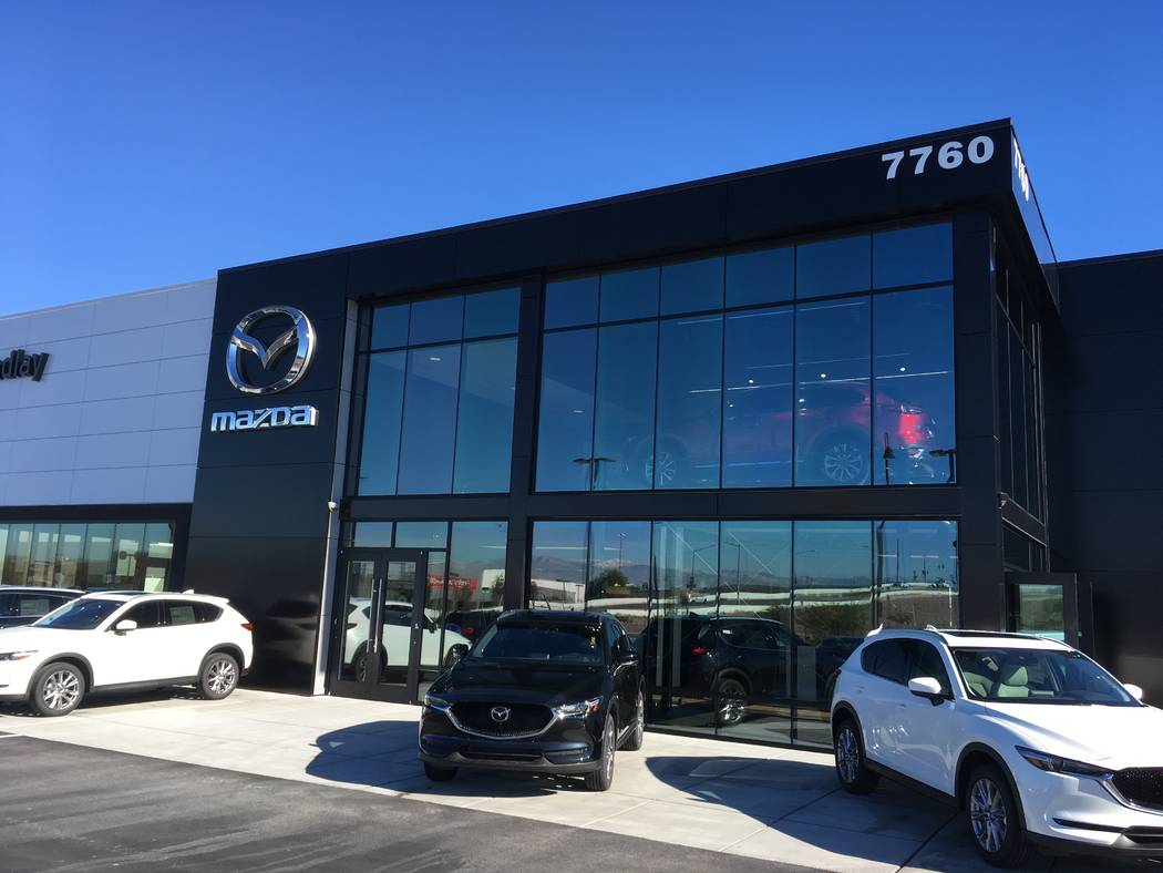 Findlay Mazda recently opened at 7760 Eastgate Road in the Valley Automall. (Findlay)
