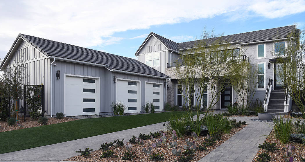 KB Home unveils Google Home in Inspirada, a Henderson master-planned community. (KB Home)