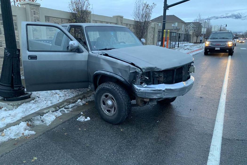 Utah teenager crashes car trying 'Bird Box' blindfold challenge