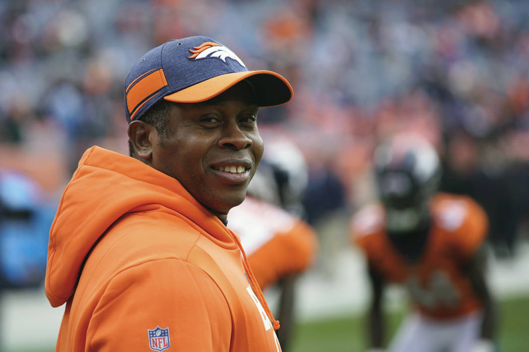 Cardinals hire ex-Broncos coach Vance Joseph as DC