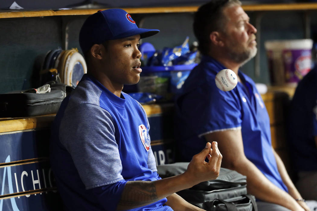 Suspended Addison Russell, Cubs agree at $3.4M, $200k raise