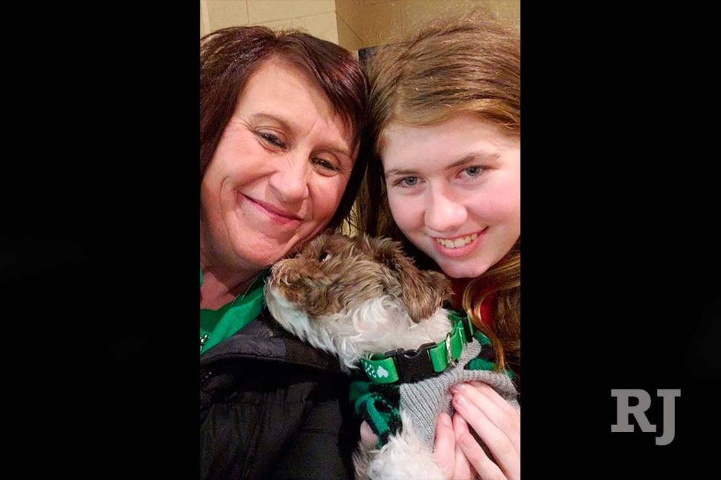 This Friday, Jan. 11, 2019 photo shows Jayme Closs, right, with her aunt, Jennifer Smith in Barron, Wis. Jake Thomas Patterson, a 21-year-old man killed a Wisconsin couple in a baffling scheme to ...