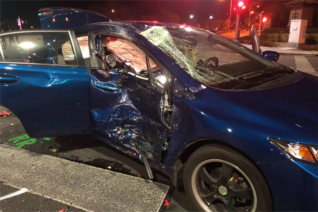 Off-duty Las Vegas police officer involved in fatal crash