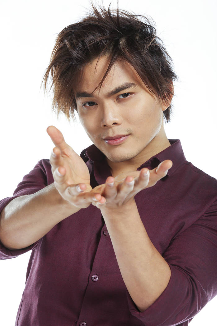 "Shin Lim in ""America's Got Talent. (Photo by: Vivian Zink/NBC/NBCU Photo Bank)"