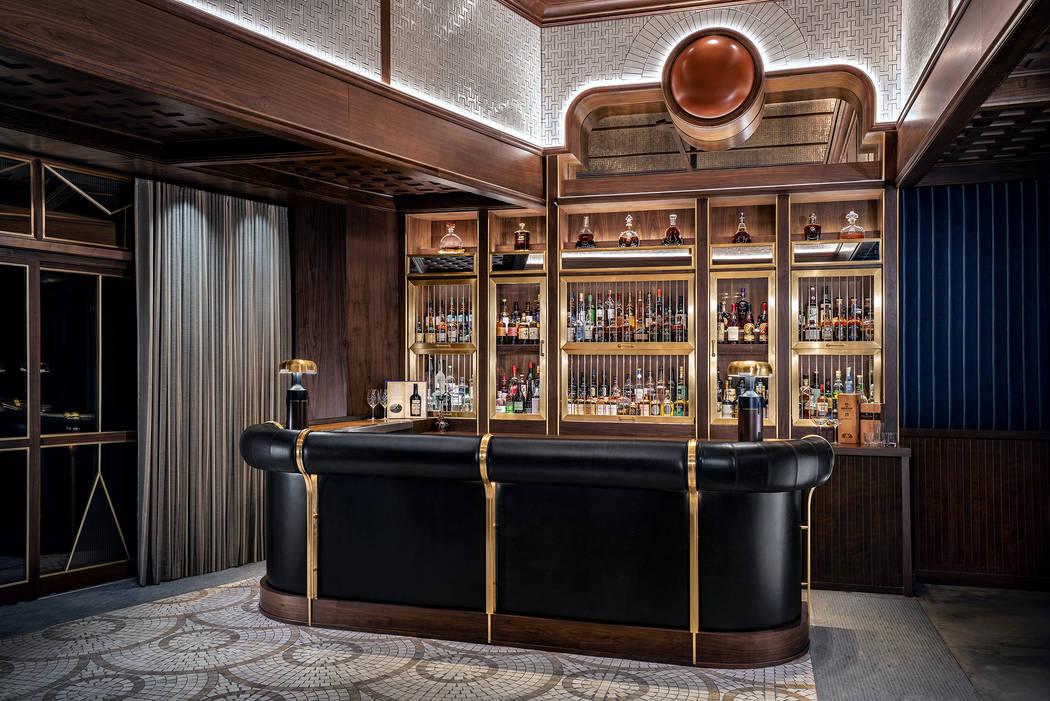 The bar at Sara's, Michael Symon's restaurant within a restaurant. (Clint Jenkins)