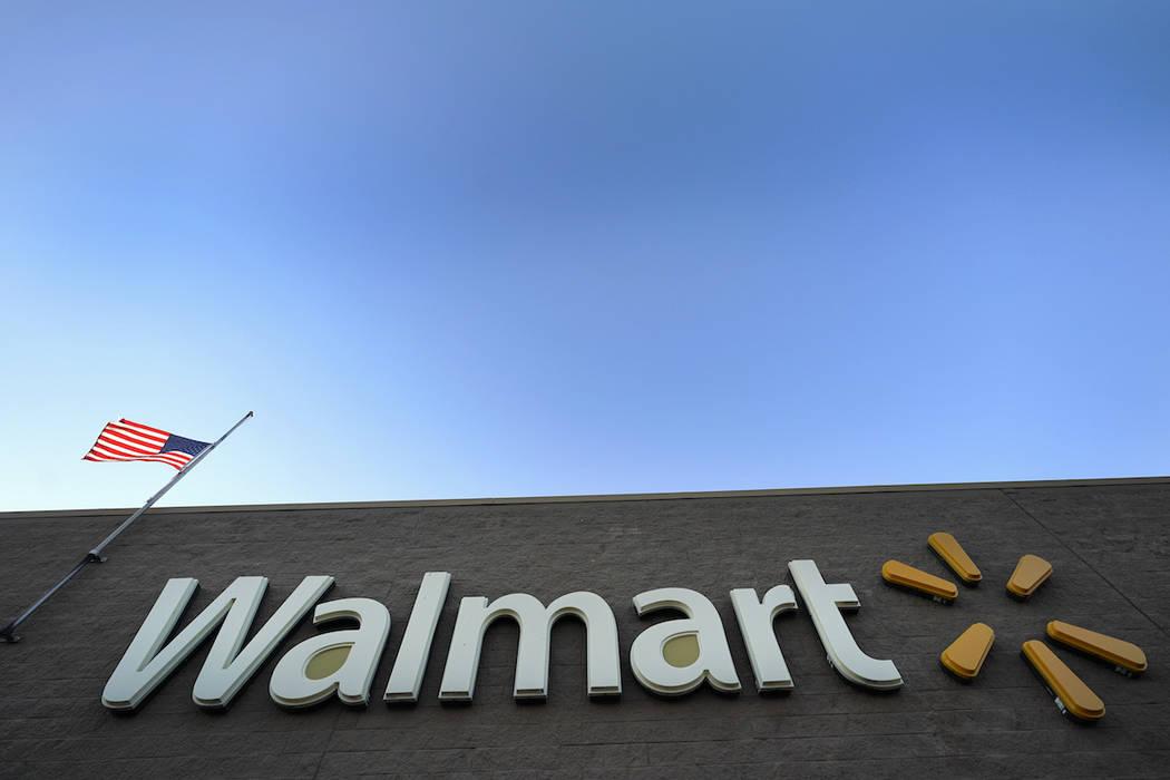 This Nov. 9, 2018, file photo shows a Walmart Supercenter in Houston. (AP Photo/David J. Phillip, File)