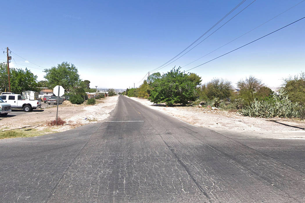 The intersection of Haynes Drive and East Basic Road. Google Street View image.