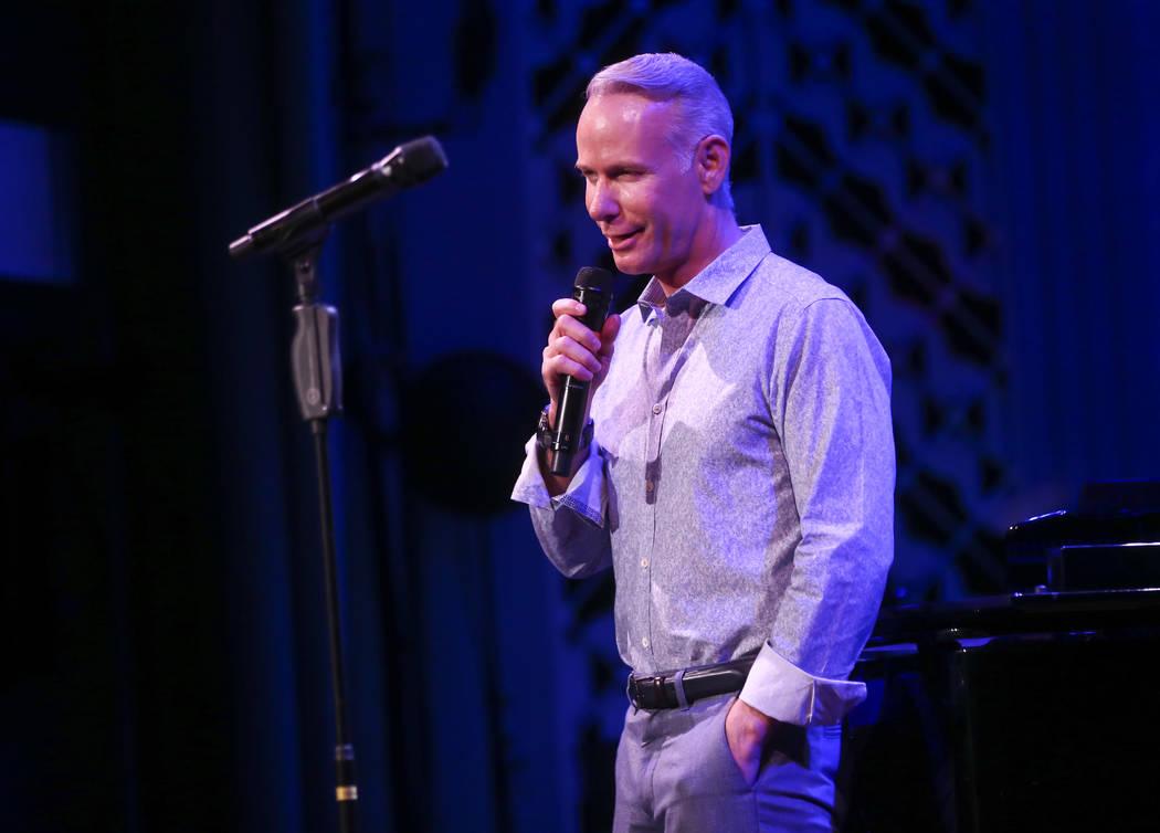 Richard Oberacker during the Composers Showcase of Las Vegas at The Smith Centerճ Cabaret Jazz in Las Vegas on Wednesday, Aug. 16, 2017. Chase Stevens Las Vegas Review-Journal @csstevensphoto