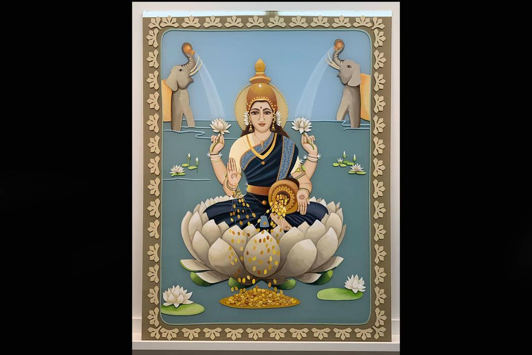 """""""Lakshmi"""" by Eva Celin at Priscilla Fowler Fine Art's show """"Gallery Stars!"""""""