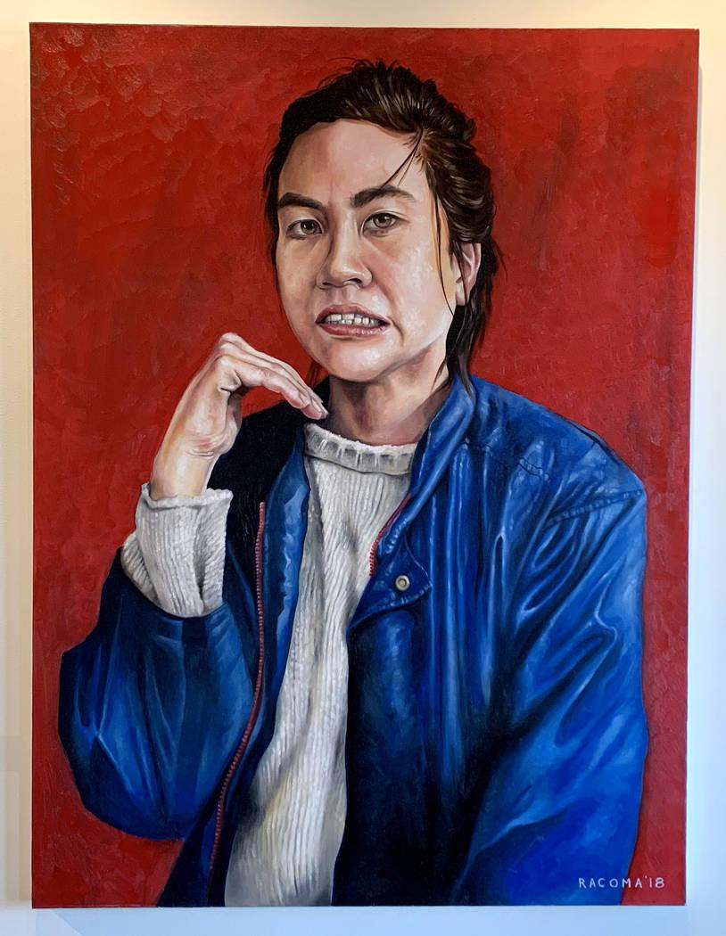 """Zet"" by Ian Racoma Priscilla Fowler Fine Art's show ""Gallery Stars!"""