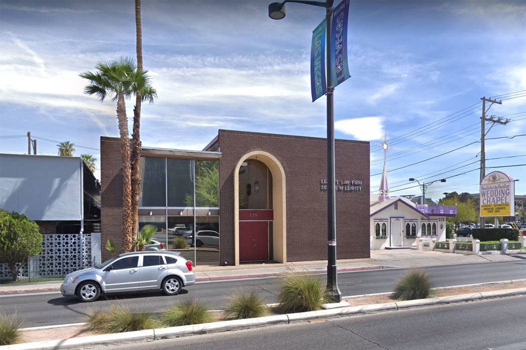 By late March, Trend Nation, LLC is expected to move its main corporate office to 229 Las Vegas Blvd. (Google)