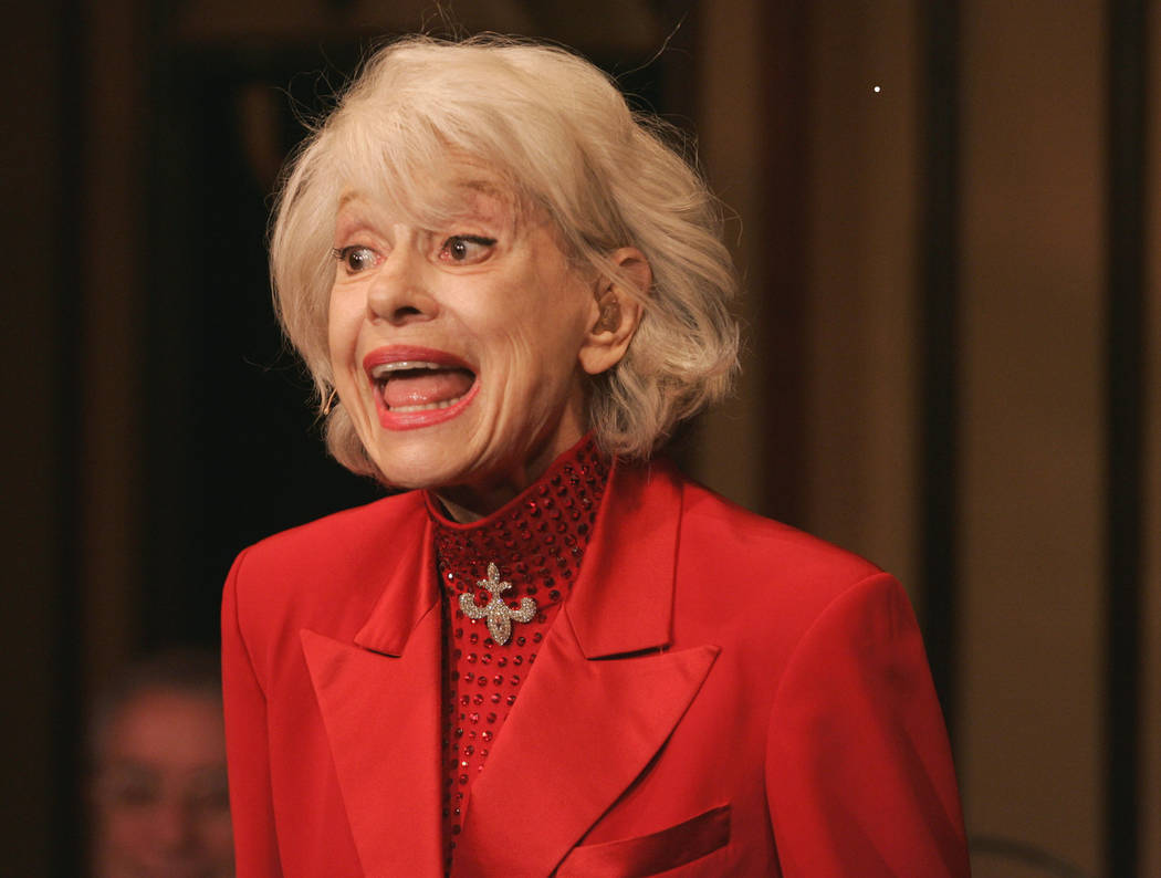 "Carol Channing performs during her one-woman show,""The First 80 Years are the Hardest,"" at the cabaret Feinstein's at the Regency in New York, Oct. 18, 2005. Channing, whose career spanned decade ..."