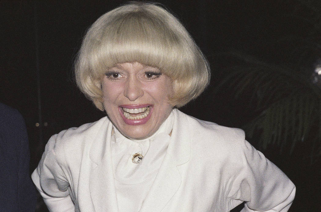 Actress Carol Channing in New York, June 19, 1978. Channing, whose career spanned decades on Broadway and on television has died at age 97. (G. Paul Burnett/AP, File )