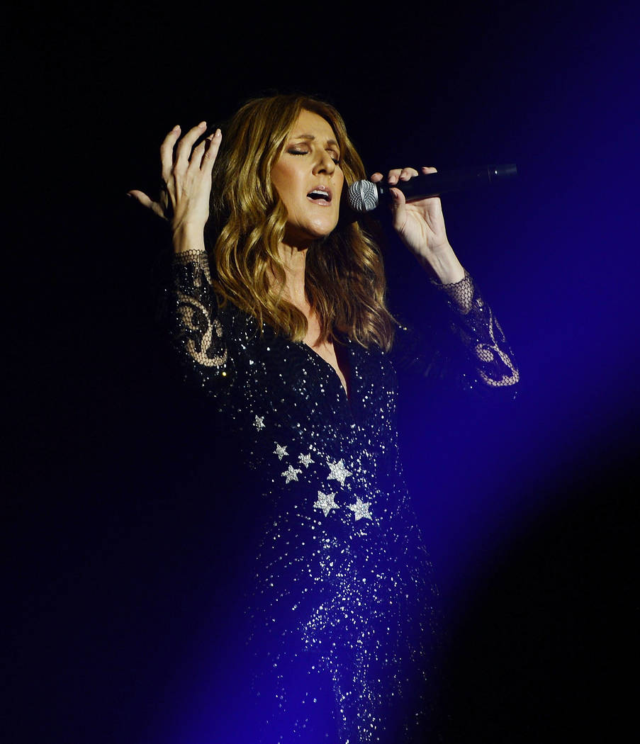 Celine Dion premieres the much-anticipated return of her headline residency show at the Colosseum at Caesars Palace on August 27, 2015 in Las Vegas, Nevada. (Photo by Denise Truscello/WireImage)