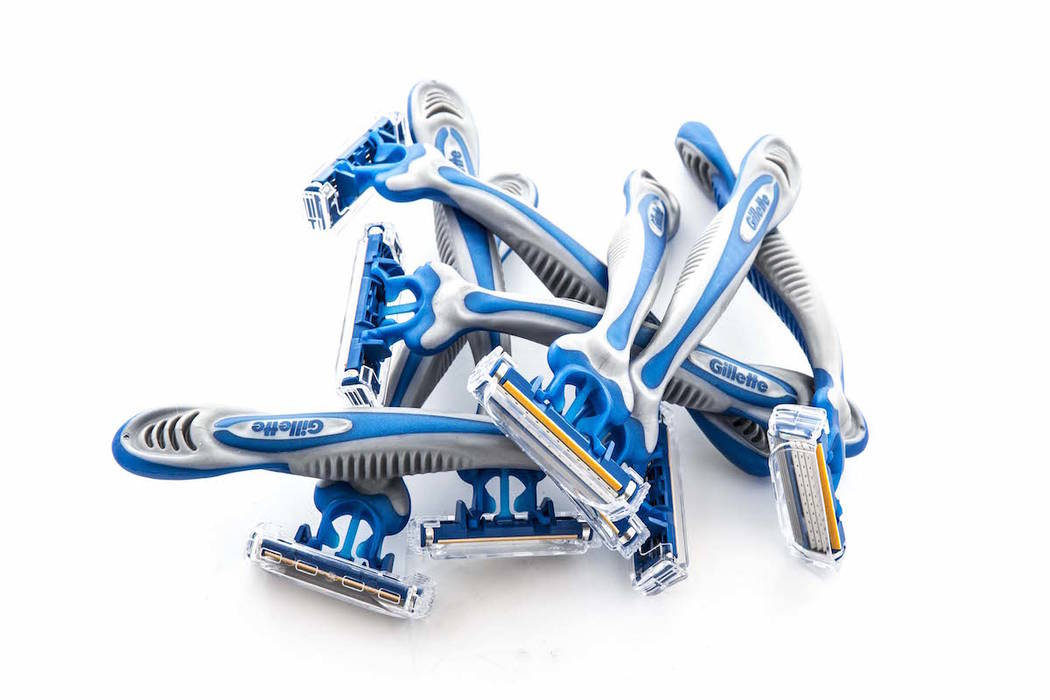 Gillette Sensor 3 Disposable Razors on a white background (Getty Images)